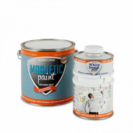 Magnetische Whiteboardwand 30 m² - Compleet Pakket