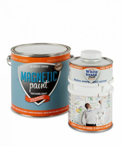 Magnetische Whiteboardwand -5 m² - Compleet Pakket
