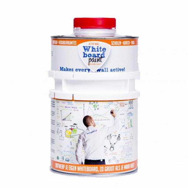 Whiteboardverf Active Wall 0,5 liter (transparant)