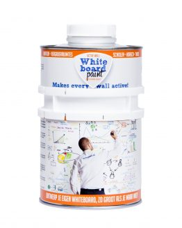 Whiteboardverf Active Wall 0,5 liter (wit)