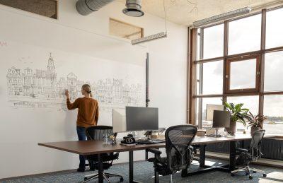 Whiteboard, kantoor